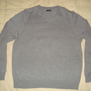 Apt. 9 V-Neck Casual Sweater Merino Wool Blend